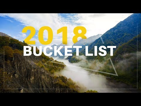 2018 Bucket List - Travel Ideas for You | houseoftours.com