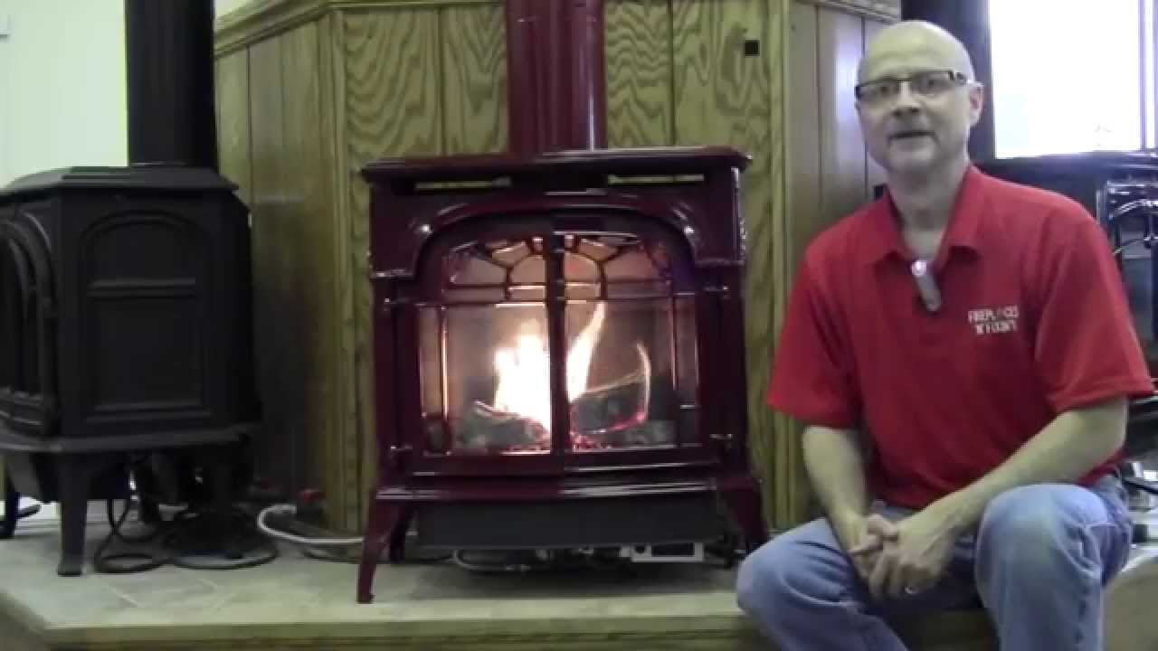 direct vent gas stove youtube
