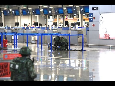 BREAKING Explosion rocks #Shanghai #Pudong Airport Terminal 2 #China, injuries reported