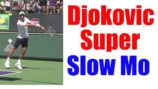 Novak Djokovic Super Slow Motion Compilation HD   Forehand   Backhand   Serve