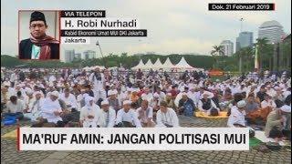 Ma'ruf Amin: Jangan Politisasi MUI