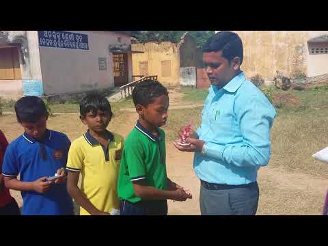 Annual Sports KV Nuapada Mathematical Race Class V Boys