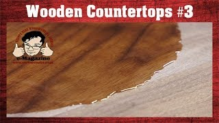 A finish durable enough for a wooden countertop (Arm-R-Seal)