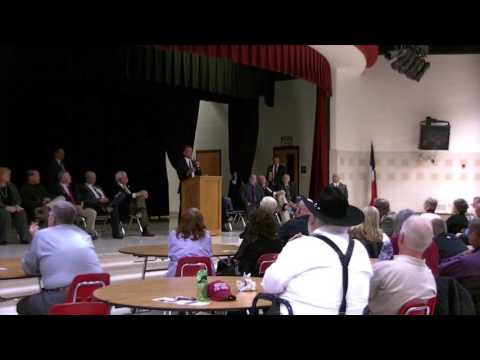 Gooden Request Names with Questions at Candidates Forum