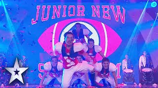 Grand Finals Crowd Flips For Junior New System   Asia's Got Talent Grand Final 1