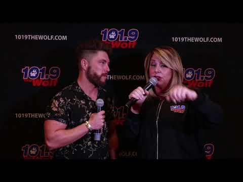 Chris Lane interview in Las Vegas April 2018