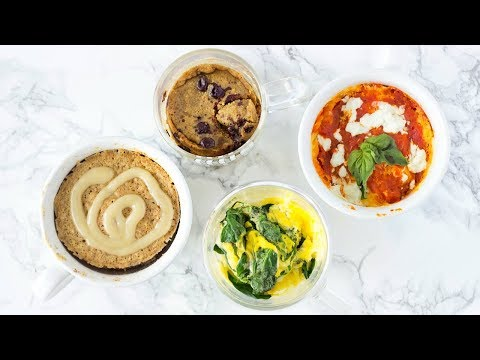 HEALTHY MUG RECIPES! Mug Cake & Quick Microwave Recipes For College!