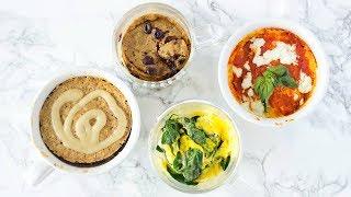 HEALTHY MUG RECIPES! Mug Cake &amp Quick Microwave Recipes For College!