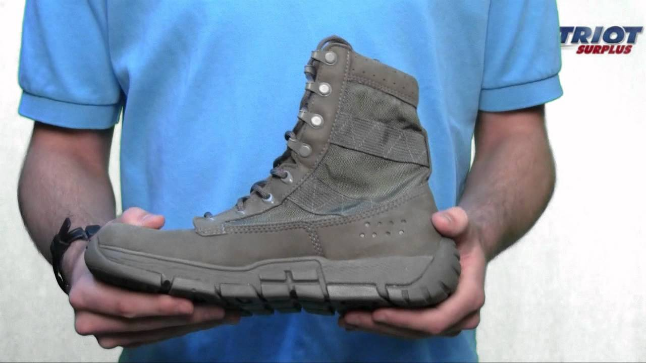 Men S Rocky 8 Quot C4 Trainer Sage Green Military Boot Youtube