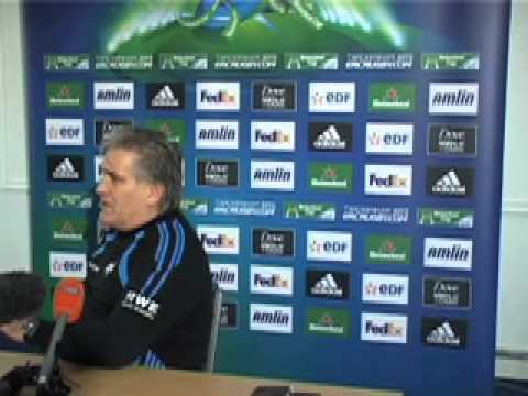 Scott Johnson Biarritz pre-match press conference, Weds 18th January 2012
