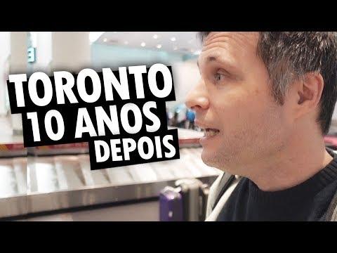 EMOÇÃO EM TORONTO DEPOIS DE 10 ANOS - Vlog Ep.100