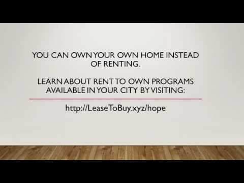 Rent To Own Homes In Pennsylvania - Lease To Purchase