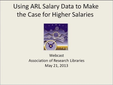 Using ARL Salary Data to Make the Case for Higher Salaries