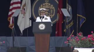 アメリカ海軍士官学校 卒業式 2017/5/26