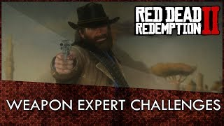 Red Dead Redemption 2 Weapons Expert Challenges Guide