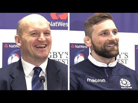 Gregor Townsend & John Barclay Full Pre-Match Press Conference - Wales vs Scotland - Six Nations
