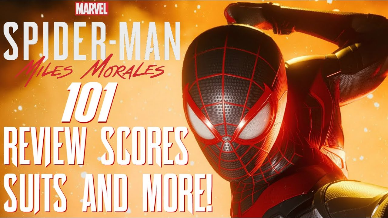 Marvel's Spider-Man: Miles Morales 101 - REVIEW SCORES, FINAL REMASTER SUITS REVEALED, & MO
