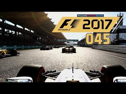 F1 2017 KARRIERE 🚥 S01E45 • Der große Preis von MALAYSIA • LET'S PLAY