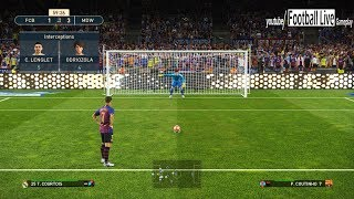 PES 2019 El Clasico | FC BARCELONA vs REAL MADRID | Amazing Goals & Penalty Kick goal | Gameplay PC