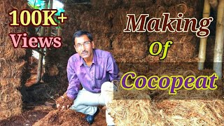 What is Cocopeat ? How Cocopeat is made ?