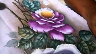 Pintando rosas parte 2