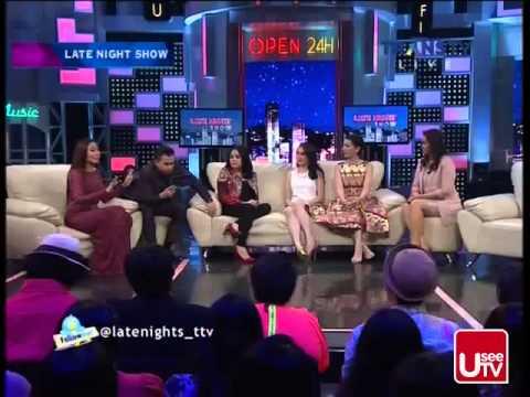 Late Night Show TransTV ~ 26 Januari 2015 ~ Mama Muda Nagita Slavina
