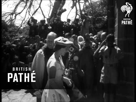 Princess Margaret In Mauritius  (1956)