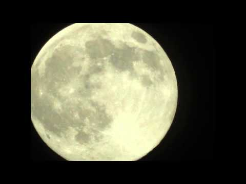 AWWESOME SUPER moon Full Moon Los Angeles CA July 12 2014