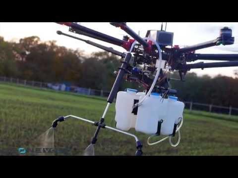 Drone Spray by Drone Volt