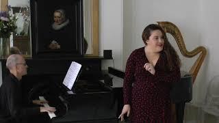 Nazan Fikret, soprano, sings 'Non si da follia maggiore'.