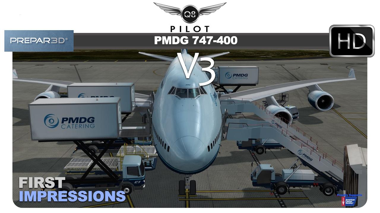 [Prepar3D] PMDG 747-400 v3 | First Impressions