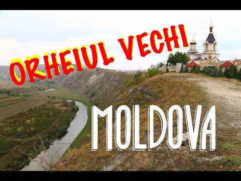 ORHEIUL VECHI Monastery, the most fantastic place in Moldova