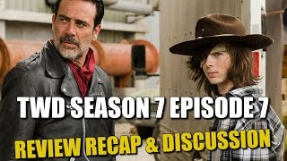 The Walking Dead Season 7 Episode 7 Spoilers Review & Discussion
