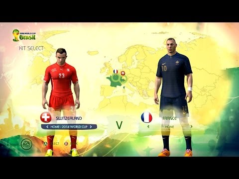 Switzerland v France: World Cup simulator