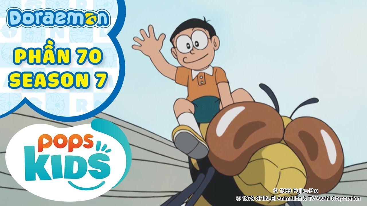 [S7] Tuyển Tập Hoạt Hình Doraemon – Phần 70 – Bắt Cóc Suneo, Máy Bay Côn Trùng