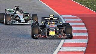 Formula1-2018 Grand Prix USA. Red Bull wins!