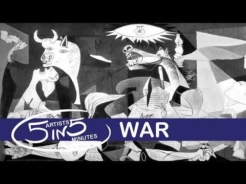 WAR | 5 Artists in 5 Minutes | LittleArtTalks