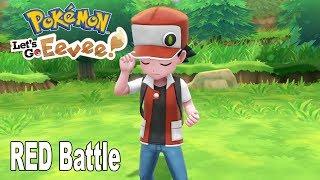 Pokémon: Let's Go, Pikachu! and Let's Go, Eevee! - RED Battle [HD 1080P]