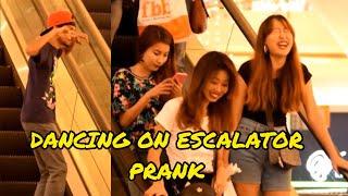 Dancing On Escalator Pranks In India(Kolkata) Naughty Bongs