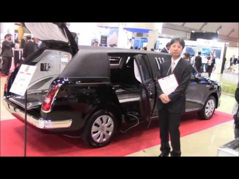 エンディング産業展2015東京ビックサイト,12/9ー光岡自動車の最新型の霊柩車
