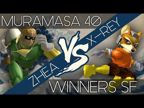 Muramasa 40 - Zhea (Falcon) vs X-Rey (Fox) - WSF  