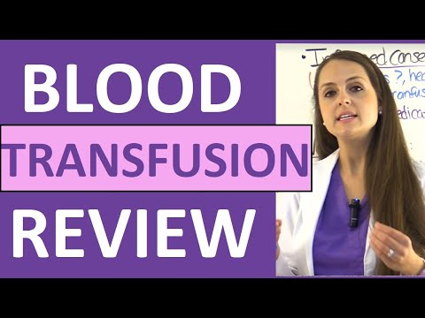 Blood Transfusion Procedure Nursing | Reaction Types, Complications (Hemolytic/Febrile) NCLEX