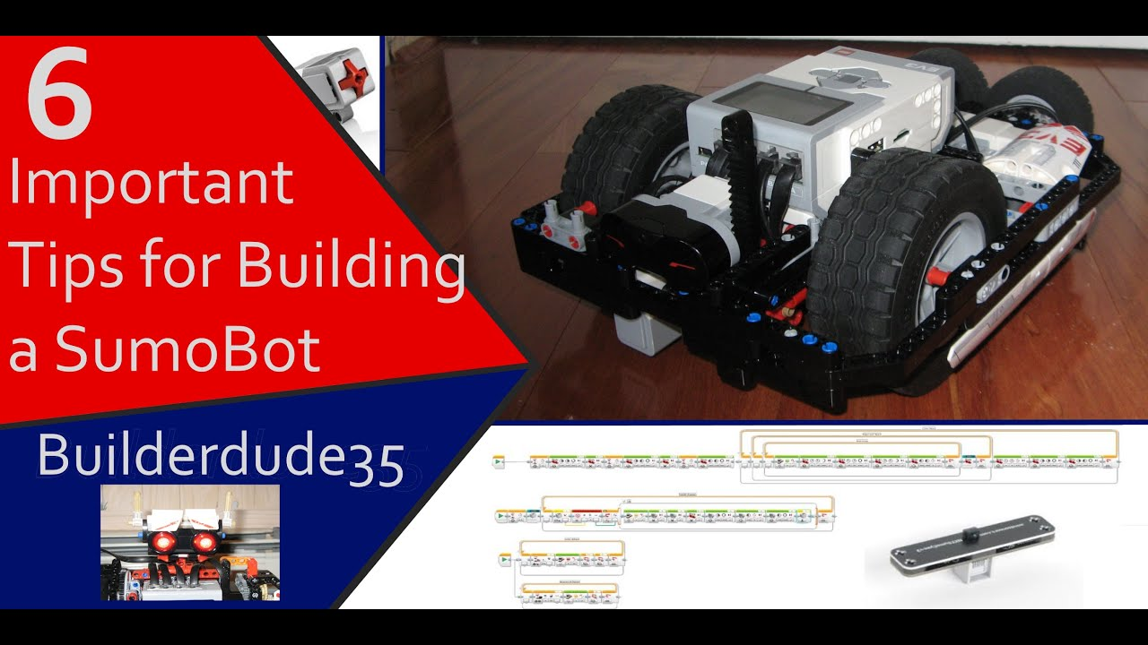 How to Build the Best EV3 Sumo Robot - 6 Tips for Success