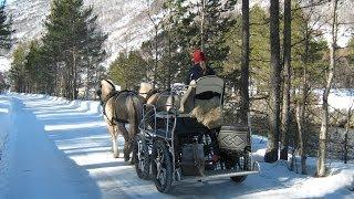 Winter in Hovet, Hallingdal, Norway