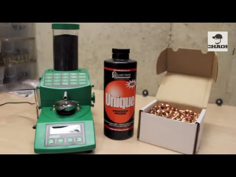 Reloading 45ACP - First Time at Bat