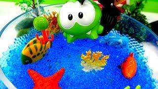 Игры Ам Няма - Ловим рыбку в пруду - Видео для детей