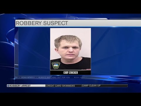 CSPD arrests man connected to 17 armed robberies