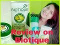 Biotique PRODUCTS GOOD OR BAD? Review  on BIOTIQUE BEAUTY BRAND
