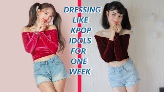Download Dressing Exactly Like KPOP IDOLS  For One Week Straight (School Teacher Was SHOOK) Mp3