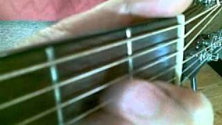 a minor chord finger positions
